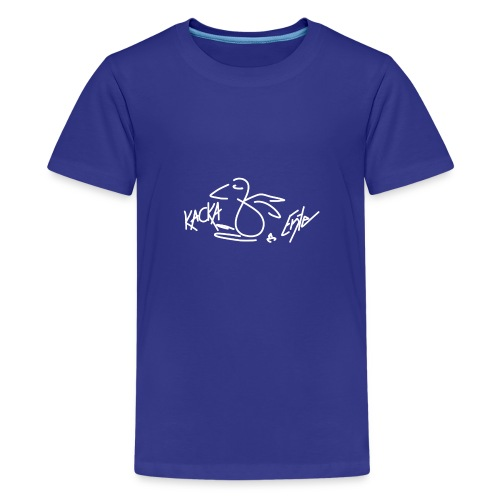 Kacka Ente - Teenager Premium T-Shirt
