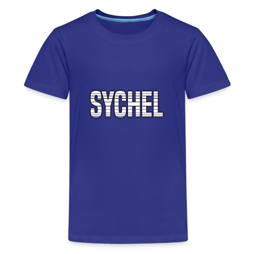 Sychel Bold Logo - Teenage Premium T-Shirt