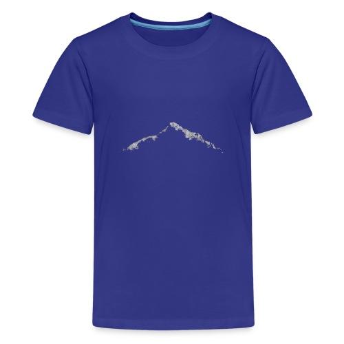 Home is Where The Mountains Are - Herren Langarm - Teenager Premium T-Shirt