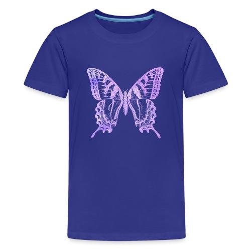 Watercolor Butterfly - T-shirt Premium Ado