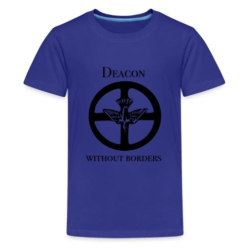 Diakoni utan gränser - Premium-T-shirt tonåring