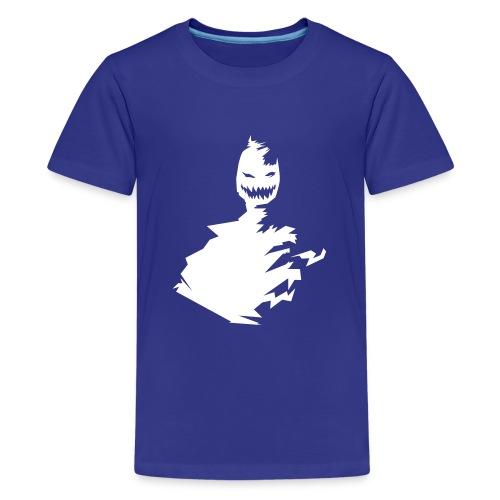 t-shirt monster (white/weiß) - Teenager Premium T-Shirt