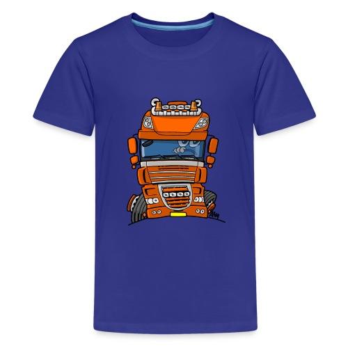 0793 D truck - Teenager Premium T-shirt