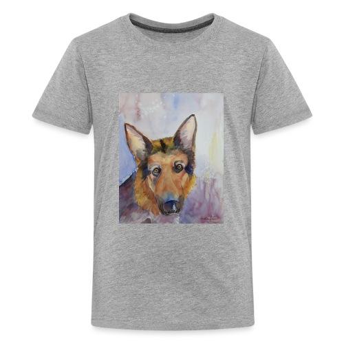 german shepherd wc - Teenager premium T-shirt