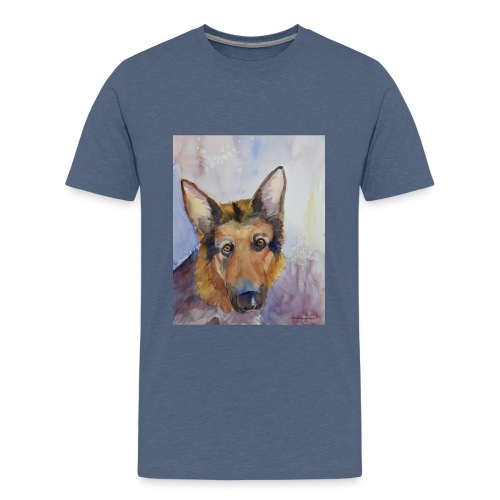 german shepherd wc - Teenager premium T-shirt