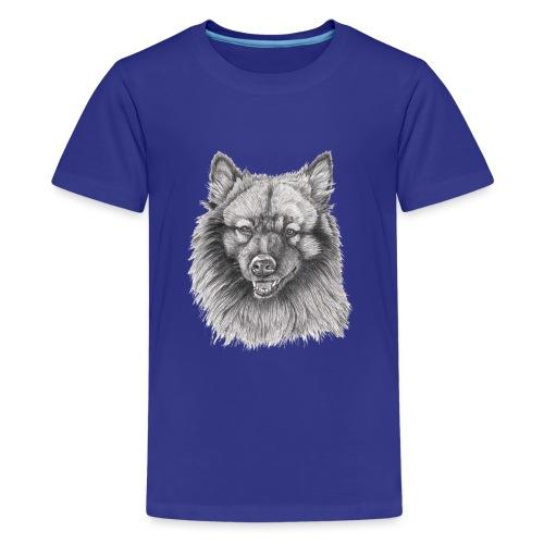 Keeshond - grossspitz - Teenager premium T-shirt