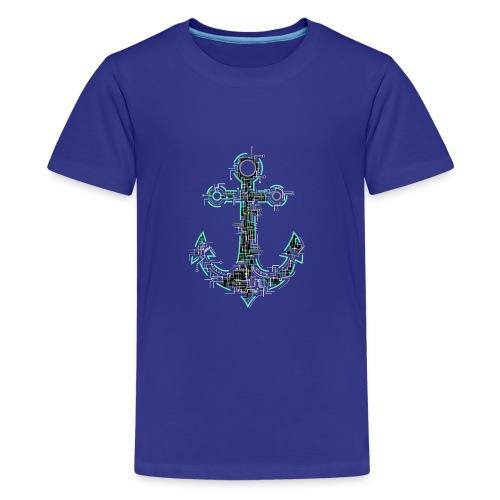 Cyber Anker Tshirt ✅ Elektro Anker Tshirt - Teenager Premium T-Shirt