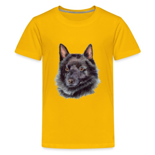 schipperke - M - Teenager premium T-shirt