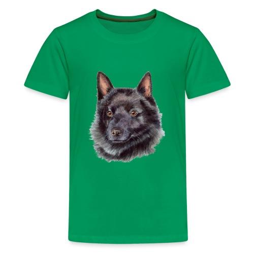 schipperke - M - Teenager premium T-shirt