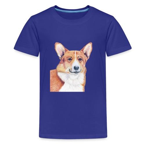 welsh corgi pembroke - Teenager premium T-shirt