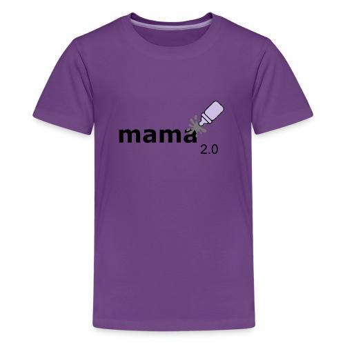 Mama_2-0 - Teenager Premium T-Shirt