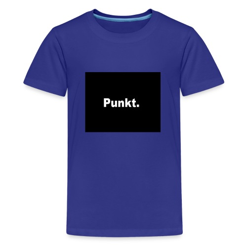 Punkt - Teenager Premium T-Shirt