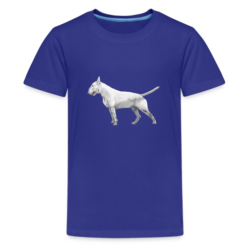 Bullterrier - Teenager premium T-shirt