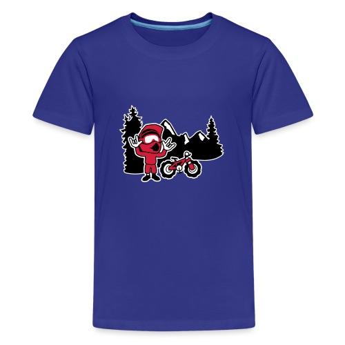 Freerider - Teenager Premium T-Shirt