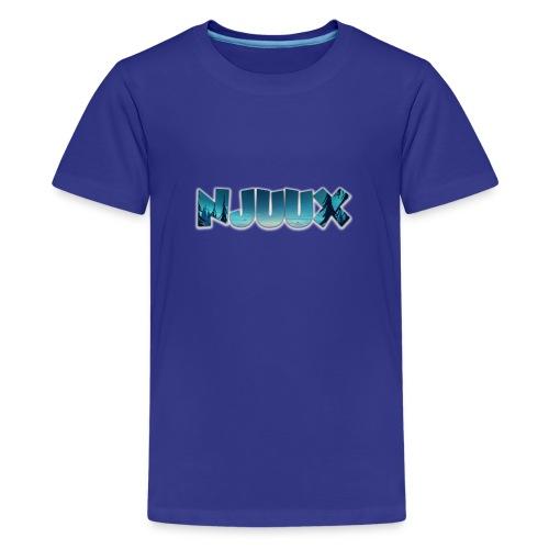 Njuux-Sky 2 - Teenager Premium T-Shirt