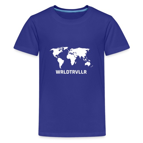 Worldtraveller - Teenager Premium T-Shirt
