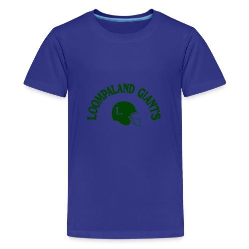 Willy Wonka heeft een team - Teenager Premium T-shirt