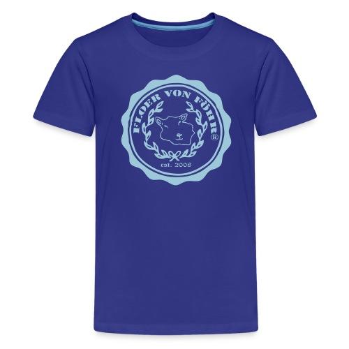 Logo Floer Oliven - Teenager Premium T-Shirt