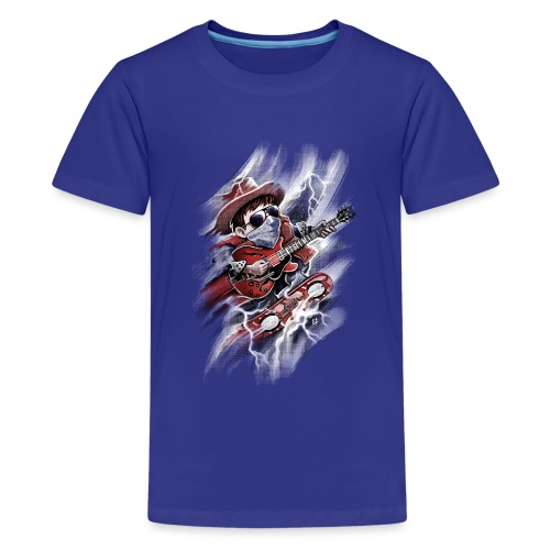 Time Rider - Teenage Premium T-Shirt