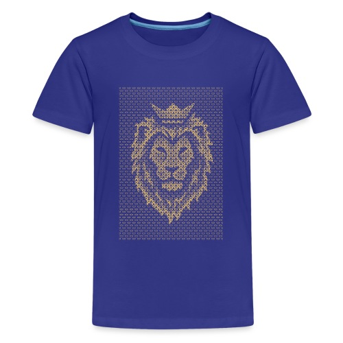 Lion Crown - Teenage Premium T-Shirt