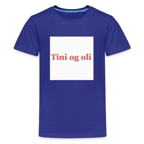 Tini og oli merch - Premium T-skjorte for tenåringer