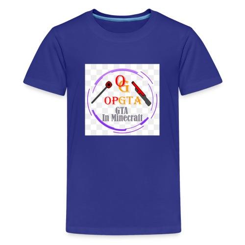 opgta logo - Teinien premium t-paita
