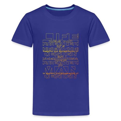 CREATIONISM was CREATED - Teenage Premium T-Shirt