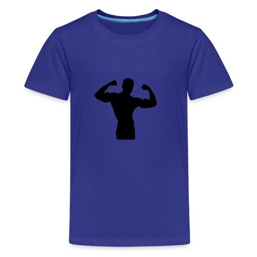 Musculation - T-shirt Premium Ado