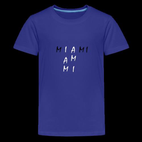 Miami Collection - Premium T-skjorte for tenåringer