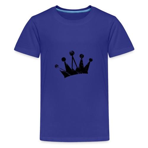Faded crown - Teenage Premium T-Shirt