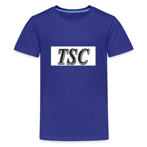 TSC Black Text - Teenage Premium T-Shirt