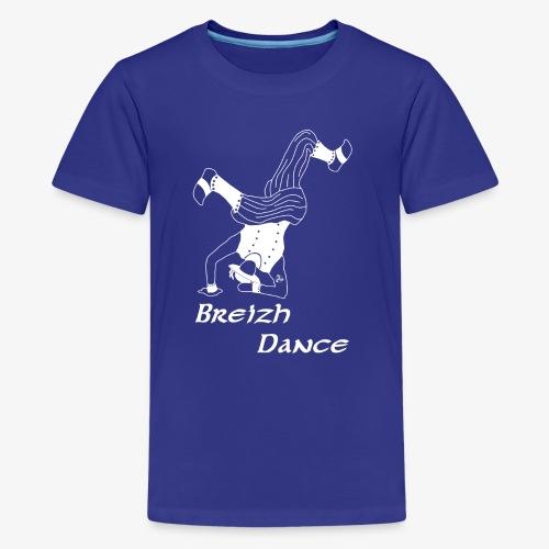 BZH Atypik Design - Breizh Dancer - T-shirt Premium Ado