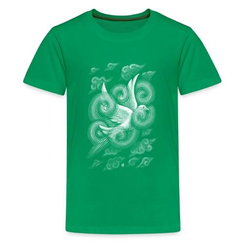 Crossing Clouds - Teenage Premium T-Shirt
