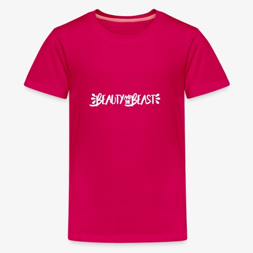 Beauty and the Beast - Teenage Premium T-Shirt