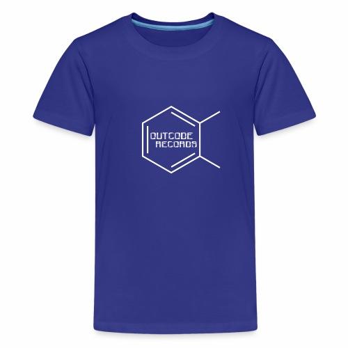 Outcode Records - Camiseta premium adolescente