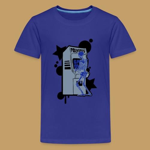 Hi-Score Silver X-ray - Koszulka młodzieżowa Premium