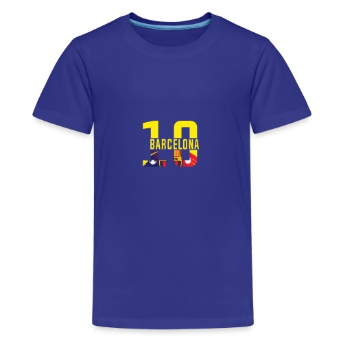 Barcelona Design. Modern und trendig - Teenager Premium T-Shirt