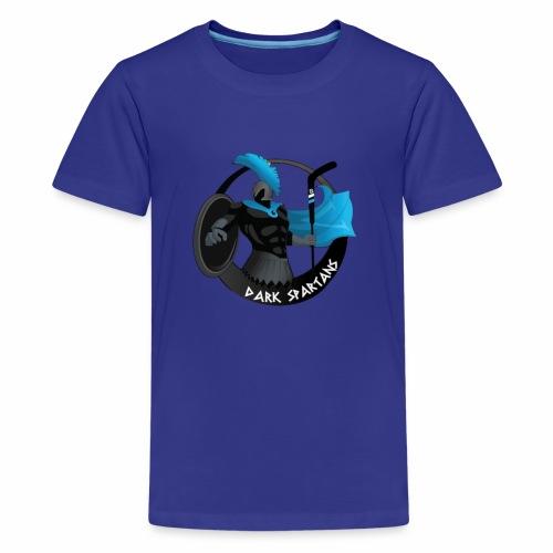 LOGO DARK SPARTANS - T-shirt Premium Ado