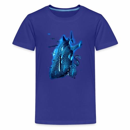 Piel ballena / Whale skin - Camiseta premium adolescente
