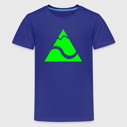 Logo Kleinekajakabenteuer - Teenager Premium T-Shirt