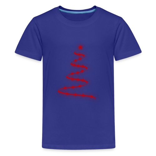 christmas tree - T-shirt Premium Ado