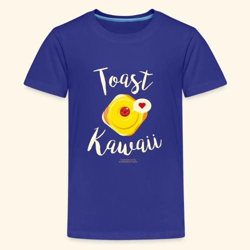 Toast Kawaii Geek Design - Teenager Premium T-Shirt