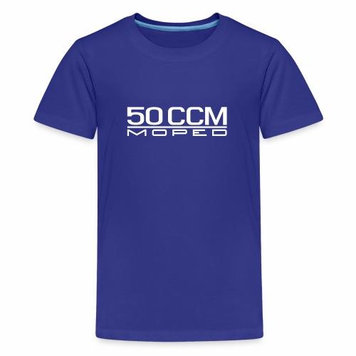 50 ccm Moped Emblem - Teenage Premium T-Shirt