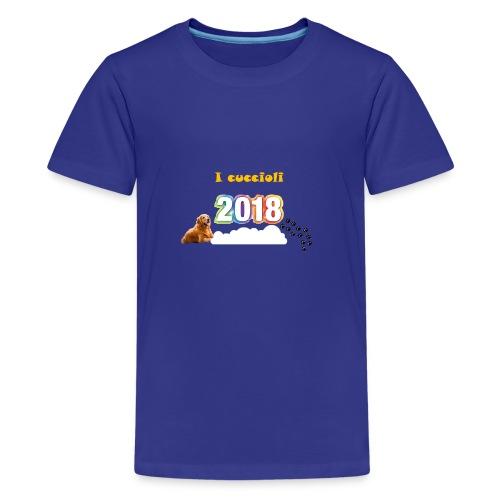 Magliette ufficiali 2018 dei cuccioli - Maglietta Premium per ragazzi