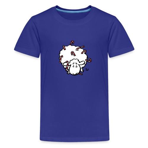 Zuckerstange-Schaf - Teenager Premium T-Shirt