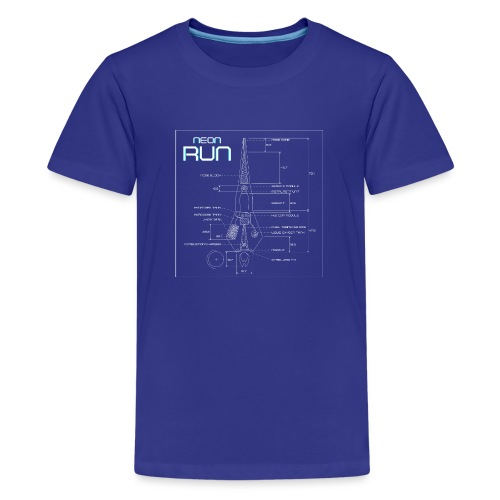 NeonRun - Teenager Premium T-shirt