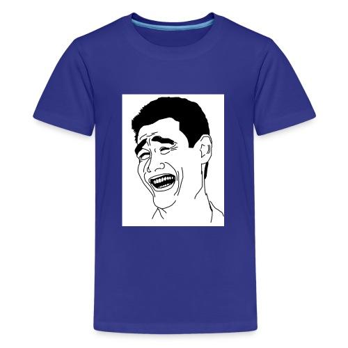 Yao Ming Face Bitch Please - Koszulka młodzieżowa Premium
