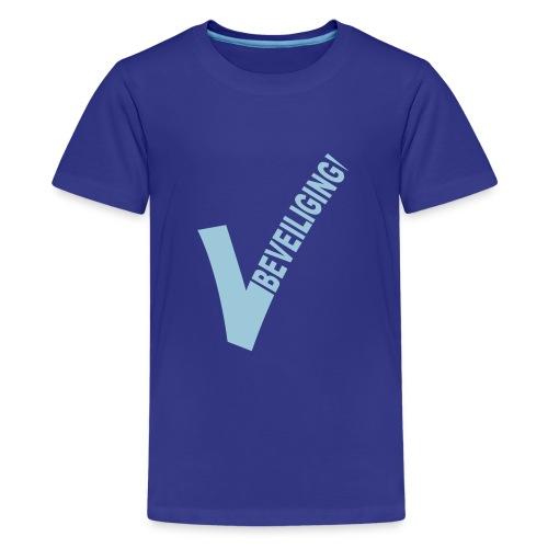 logo beveiliging 6cm - Teenager Premium T-shirt