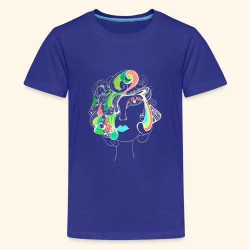Damą być ! Negatyw - Koszulka młodzieżowa Premium