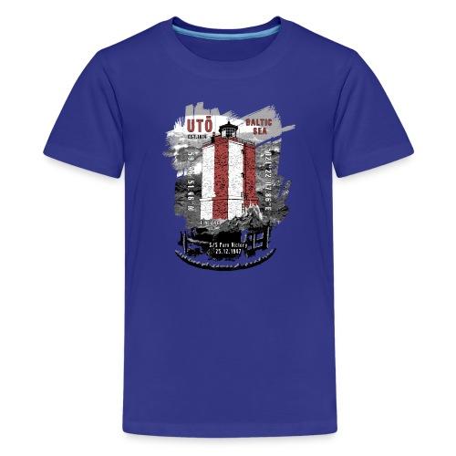 UTÖ majakan upeita tekstiilejä ja lahjatuotteita - Teinien premium t-paita